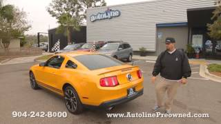 Autoline's 2011 Ford Mustang Walk Around Review Test Drive