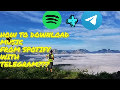 HOW TO DOWNLOAD MUSIC FROM SPOTIFY WITH TELEGRAM ???