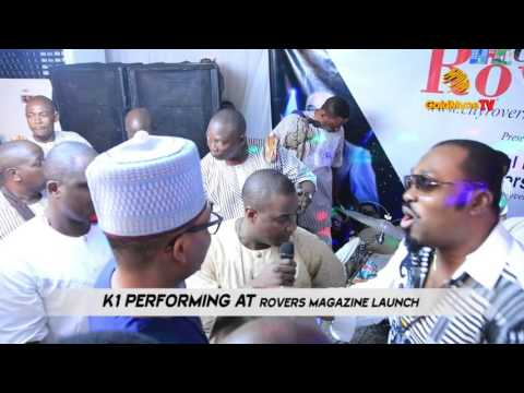 "K1 DE ULTIMATE'S PERFORMANCE AT ""CITY ROVERS MAGAZINE LAUNCH"" IN LAGOS"