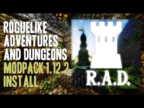 ROGUELIKE ADVENTURES AND DUNGEONS MODPACK 1.12.2 minecraft - how to download and install R.A.D.