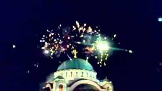 Orthodox New Year's Temple Of Saint Sava, Belgrade