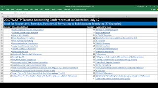 Download Lagu Excel for Accountants: Formulas, Functions & Formatting to Build Account Templates (37 Examples) Mp3