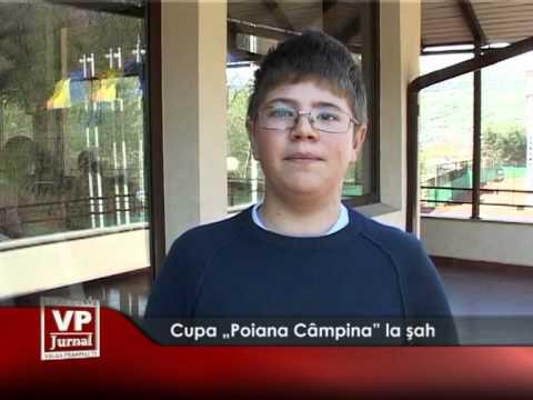 """Cupa """"Poiana Câmpina"""" la şah"""