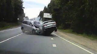 Жесткие аварии третьей недели июля 2016