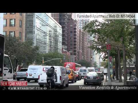 Upper East Side, New York City - Video tour of a furnished one bedroom apartment on 68th street