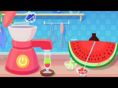 Play Ice Cream Juice With Candy's Dessert House - Fun Cooking Kids Game