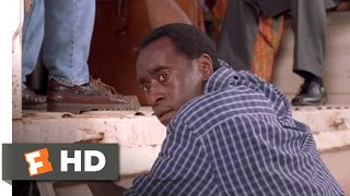Hotel Rwanda - I Cannot Leave Them to Die: Paul (Don Cheadle) saves his family as well as a select few other refugees through a UN release, but stays behind to help the others.BUY THE MOVIE: https://www.fandangonow.com/details/movie/hotel-rwanda-2004/MMVCCEAA982EDD62CB9AC50E03E1E5168882?cmp=Movieclips_YT_DescriptionWatch the best Hotel Rwanda scenes & clips:https://www.youtube.com/playlist?list=PLZbXA4lyCtqoSH8_ahmsrKsN5JZZzG1hGFILM DESCRIPTION:Paul Rusesabagina (Don Cheadle), a Hutu, manages the Hôtel des Mille Collines and lives a happy life with his Tutsi wife (Sophie Okonedo) and their three children. But when Hutu military forces initiate a campaign of ethnic cleansing against the Tutsi minority, Paul is compelled to allow refugees to take shelter in his hotel. As the U.N. pulls out, Paul must struggle alone to protect the Tutsi refugees in the face of the escalating violence later known as the Rwandan genocide.CREDITS:TM & © MGM (2004)Cast: Don Cheadle, Mothusi Magano, Nick Nolte, Sophie OkonedoDirector: Terry GeorgeWHO ARE WE?The MOVIECLIPS channel is the largest collection of licensed movie clips on the web. Here you will find unforgettable moments, scenes and lines from all your favorite films. Made by movie fans, for movie fans.SUBSCRIBE TO OUR MOVIE CHANNELS:MOVIECLIPS: http://bit.ly/1u2yaWdComingSoon: http://bit.ly/1DVpgtRIndie & Film Festivals: http://bit.ly/1wbkfYgHero Central: http://bit.ly/1AMUZwvExtras: http://bit.ly/1u431frClassic Trailers: http://bit.ly/1u43jDePop-Up Trailers: http://bit.ly/1z7EtZRMovie News: http://bit.ly/1C3Ncd2Movie Games: http://bit.ly/1ygDV13Fandango: http://bit.ly/1Bl79yeFandango FrontRunners: http://bit.ly/1CggQfCHIT US UP:Facebook: http://on.fb.me/1y8M8axTwitter: http://bit.ly/1ghOWmtPinterest: http://bit.ly/14wL9DeTumblr: http://bit.ly/1vUwhH7