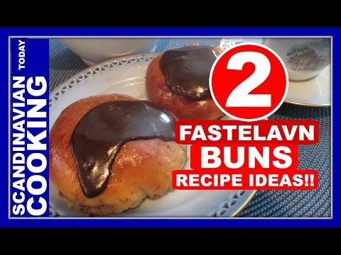 Fastelavnsboller Fastelavn buns for Fastelavn / Carnival celebrations! ( Semlor buns – Lenten buns )