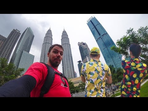 An Awesome Day In Kuala Lumpur Vlog: NightLife & Street Food Heaven