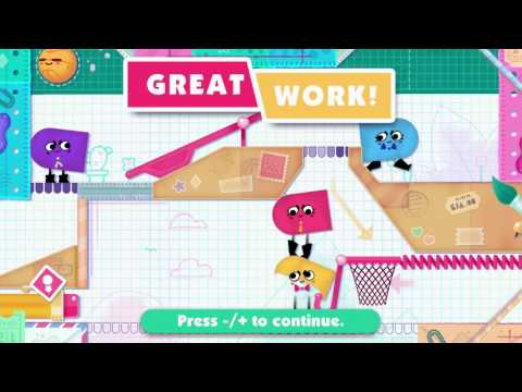 Snipperclips: Part 01 (4 Players)
