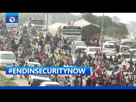 Niger Youths Protest Against Insecurity In The State