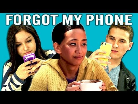 phones - I Forgot My Phone BONUS REACTIONS : http://goo.gl/PI7ZTa NEW Vids Sun, Tues & Thurs! Subscribe: http://bit.ly/TheFineBros FREE NETFLIX FOR A MONTH! http://ne...
