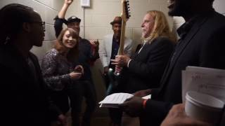 Warren Haynes, Regina Spektor, Tom Morello and Jon Batiste Rehearsal at Global Citizen Fest