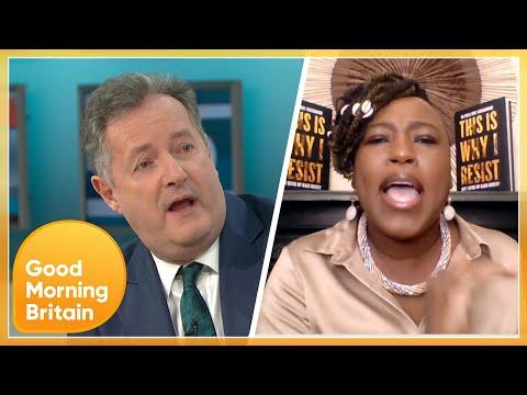 'Liar & a Disgrace' Heated Debate Between Piers & Shola Over Meghan Markle's Oprah Interview | GMB
