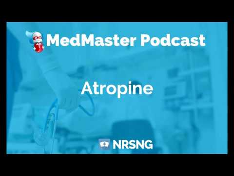 Atropine Nursing Considerations, Side Effects, and Mechanism of Action Pharmacology for Nurses