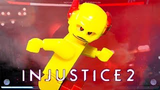 Download Lagu LEGO Injustice 2 The Flash vs Reverse Flash Stop Motion 2 Part Mp3