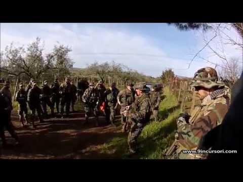 9° Incursori Softair Roma - Video: Patrol Training