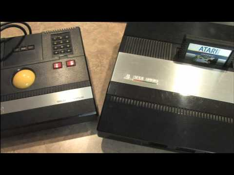 Classic Game Room - ATARI 5200 TRAK-BALL review