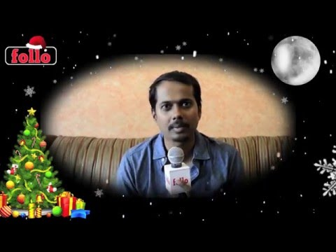 Sriram Iyar Wishes Cristmas & New Year On follo