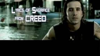 Creed - My Sacrifice (lyrics)