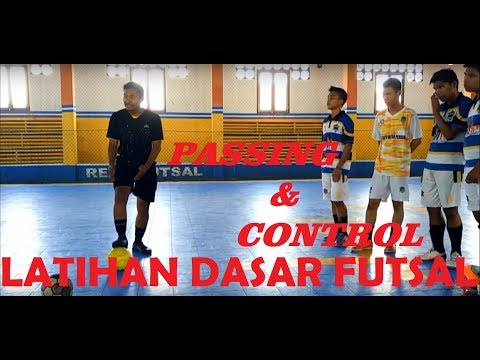 Latihan Dasar Futsal Part 1 - Passing & Control