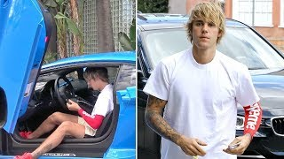 Video Justin Bieber Asked About Supporting Selena After Rehab While Hitting The Gym In His New Lambo MP3, 3GP, MP4, WEBM, AVI, FLV Januari 2019