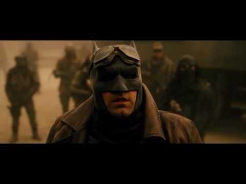 Batman DOJ Replica - Leather Knightmare Trench Coat