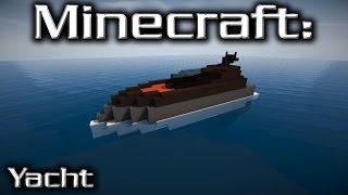 Minecraft: Small Yacht Tutorial 12