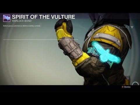 Destiny legendary titan mark hunter cloak and warlock bond