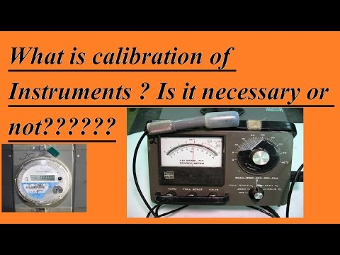 What is Calibration of instruments in Hindi