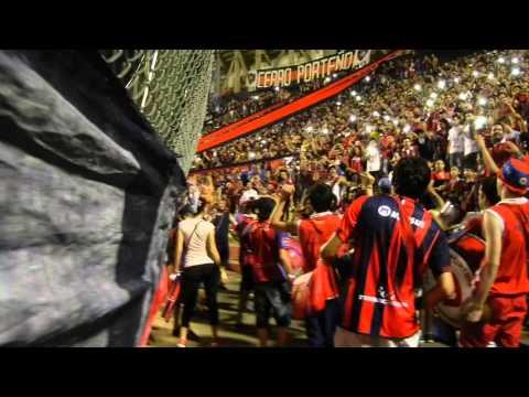 Recibimiento de Cerro Porteño ante deportivo Cali. Copa Libertadores 2014 (CERRO EN HD) - La Plaza y Comando - Cerro Porteño