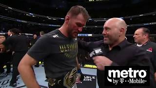UFC 241: Stipe Miocic and Daniel Cormier Octagon Interview by UFC