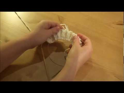 Einen Schal stricken – Patentmuster – Teil 1.mp4