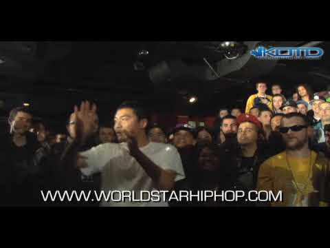 dumbfoundead - KingOfTheDot - @KidTweezy vs @Dumbfoundead Hosted By: @OrganikHipHop