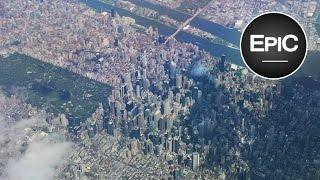Video Landing at John F. Kennedy International Airport (JFK) - New York City, U.S. (HD) MP3, 3GP, MP4, WEBM, AVI, FLV Juli 2018