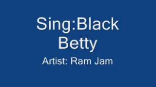 Video Black Betty- Ram Jam Lyrics MP3, 3GP, MP4, WEBM, AVI, FLV Juli 2018