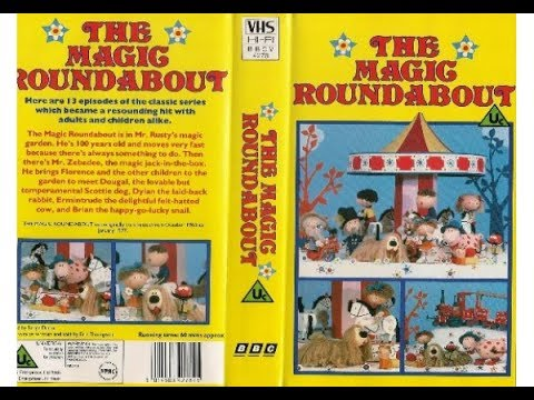 Start and End of The Magic Roundabout VHS - Re-release (Monday 6th March 1989)
