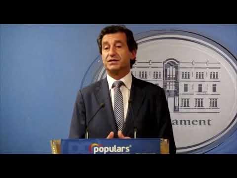 Biel Company explica les esmenes del PP als pressuposts 2020 del Govern Armengol