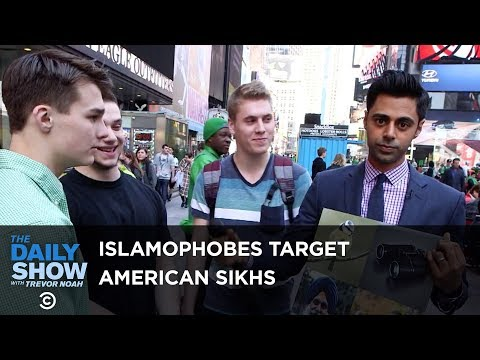 VAL: The Daily Show Hilariously Educates Americans On Sikhs & Muslims!