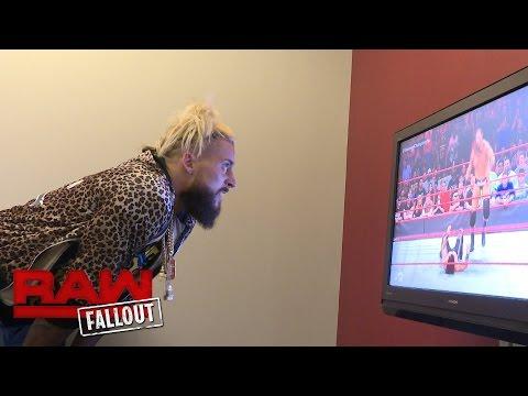 Enzo Amore verfolgt das größte Match in Big Cass' Karriere: Raw Fallout, 29. August 2016