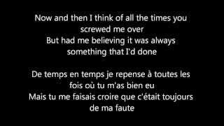 Traduction Gotye Somebody That I Used To Know lyrics