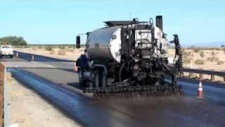 שיטה מהירה לסלילת כביש אספלט
