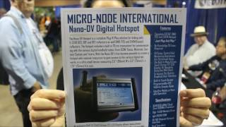 This is another new product found at the Dayton Hamvention. It's the Nano-DV from Micro-Node International, it includes an...