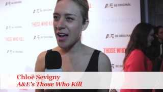 """Oscar Nominated Actress Chloë Sevigny (for 1999's """"Boys Don't Cry"""") tells WaldenPonders what unique things (like streaking!) she'd like to see happen at the 86th Annual Academy Awards on Sunday, March 2, 2014. Filmed on the Red Carpet for A&E's series premiere of """"Those Who Kill"""", airing Monday, March 3, 2014, the night after the Oscars!For more """"Bates Motel"""" and """"Those Who Kill"""" cast interviews and entertainment reporting, visit WaldenPonders: www.waldenponders.com"""