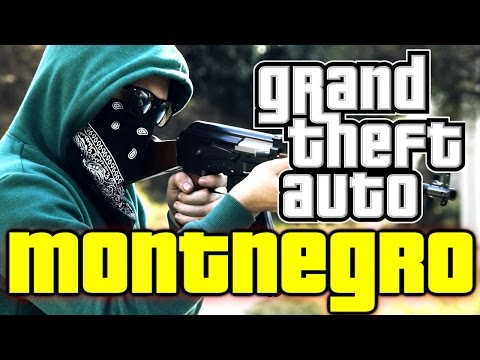 GTA Montenegro! Ep.1 ft. AdnanBro & Idzo【Short Action Movie】