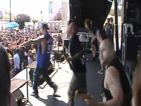 Winds of Plague- Refined in the fire Warped Tour 2011 Live