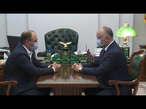 Igor Dodon a avut o întrevedere cu Ion Ceban