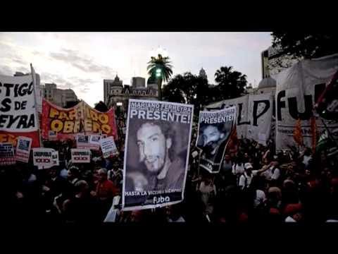 Saludo Manu Chao ( adhesión marcha por Mariano Ferreyra)