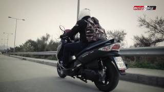 3. Kymco Xciting R 300 Test ride