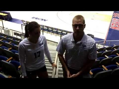 VB: Alyssa Latham Interview w/ Taylor Lamb After USC Aiken Crossover